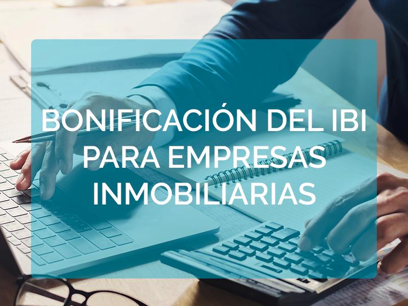 A vueltas con la bonificación del IBI para empresas inmobiliarias