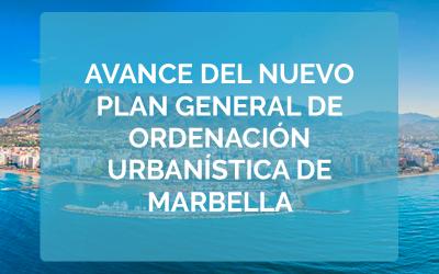"""Avance del nuevo """"Plan General de Ordenación Urbanística de Marbella"""""""